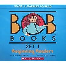 Bob Books Set 1- Beginning Readers: Box Set
