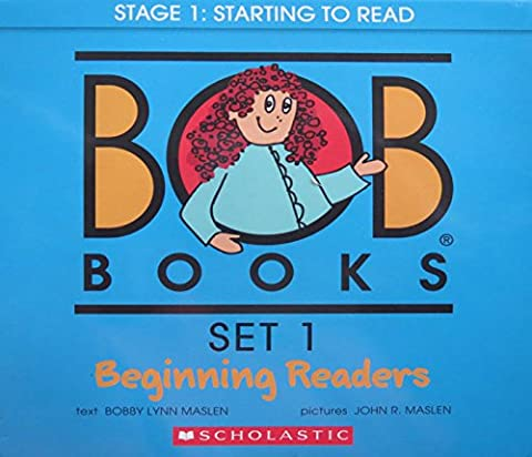 Bob Books, Set 1: Beginning Readers (Starting Montessori School)