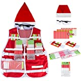 Little Valentine Santa Claus Tactical Vest Kit (Christmas Limited Edition) for Nerf Guns N-Strike Elite Series