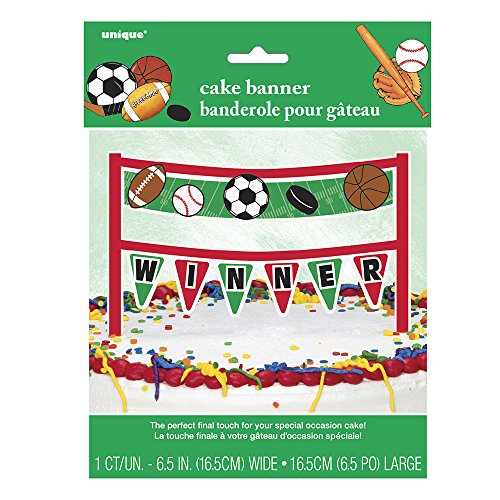 Cardboard Classic Sports Bunting Topper