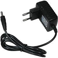Adapter oplaadkabel oplader 15,3 V 0,33 A 5,5 mm x 2,5 mm voor Black & Decker EPC12, EPC12B, AST12 XC vervangt HKA-15321