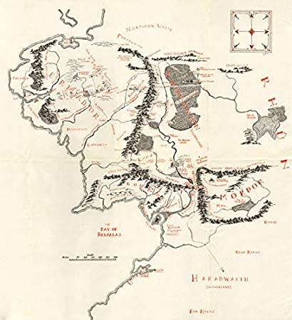 Amazon.com: Middle Earth. Lord of The Rings. The Shire Gondor