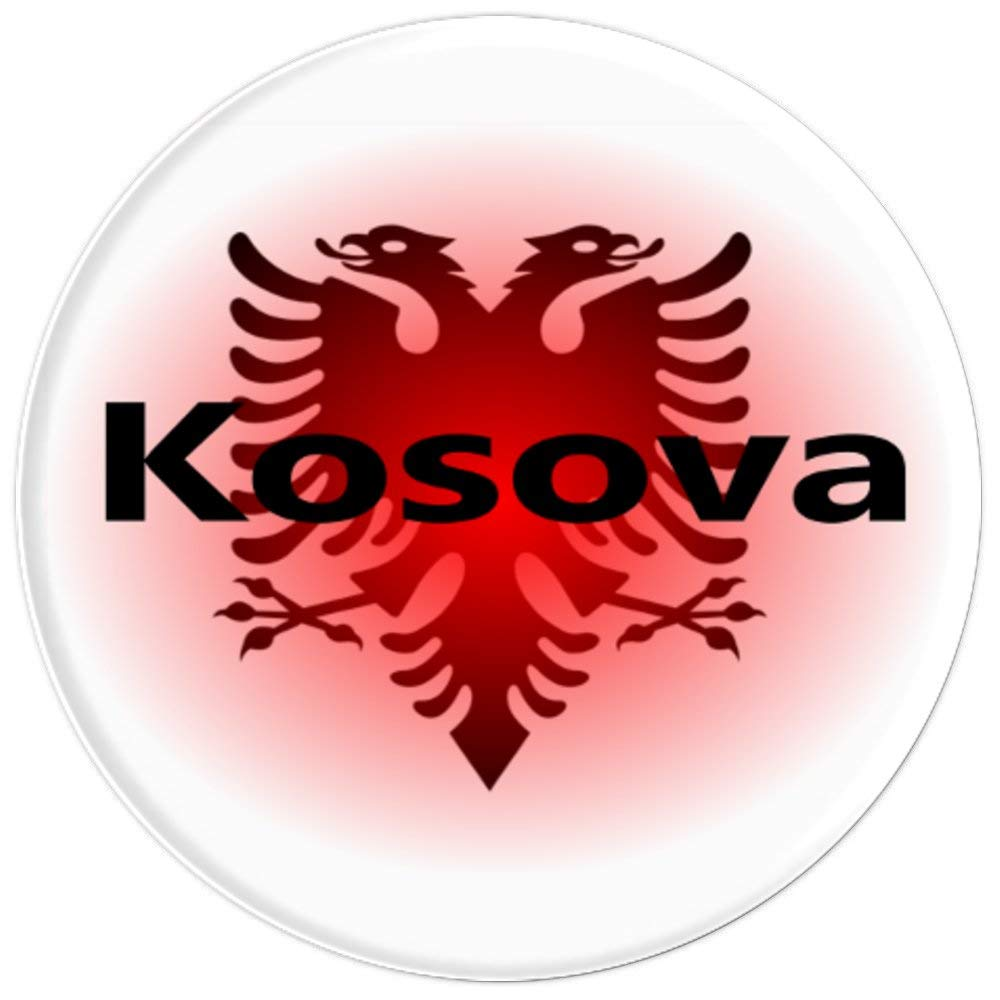 Amazon.com: Bandera de Albania Popsocket Albania Kosovo ...