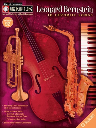 Leonard Bernstein: Jazz Play-Along Volume 92