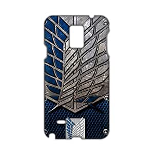 Angl 3D Case Cover Attact On Tiatan Phone Iphone 5C