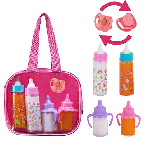Which is the best doll feeding set with bag?