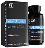 Alpha GPC – 325mg per Capsule – 60 Vegetarian Capsules – Focus Supplements – Choline | Nootropic | Brain Enhancing Supplement – Packaged in ISO Licenced Facilities – 100% Money Back Guarantee Review