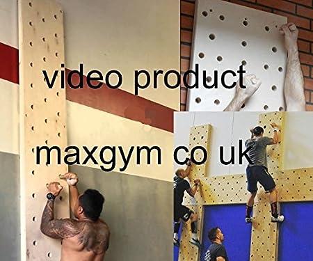 maxg gym MAX Gimnasio, Sujetador de Escalada, Tabla de ...