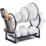 TOOLF 2-Tier Dish Rack,Easy Assemble Image