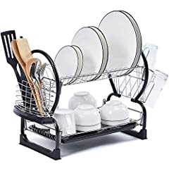 2-Tier Dish Rack,Easy Assemble