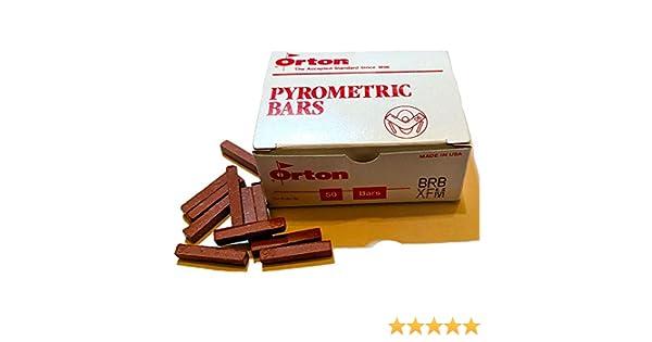 ORTON BRB PYROMETRIC BAR CONES FOR CERAMIC KILNS Box of 50 Cone 06