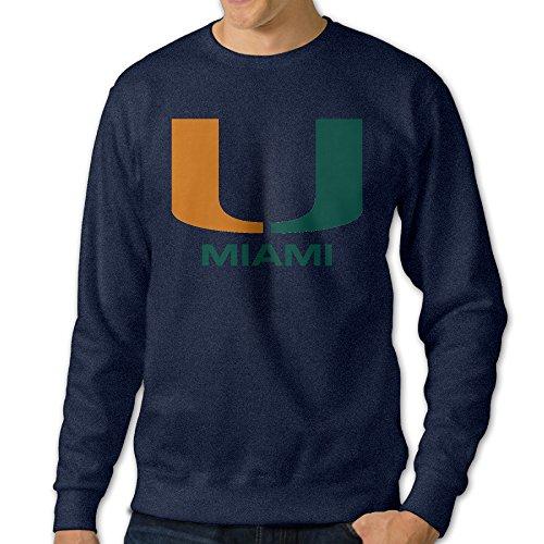 jjvat-mens-university-of-miami-crewneck-sweatshirt-size-l