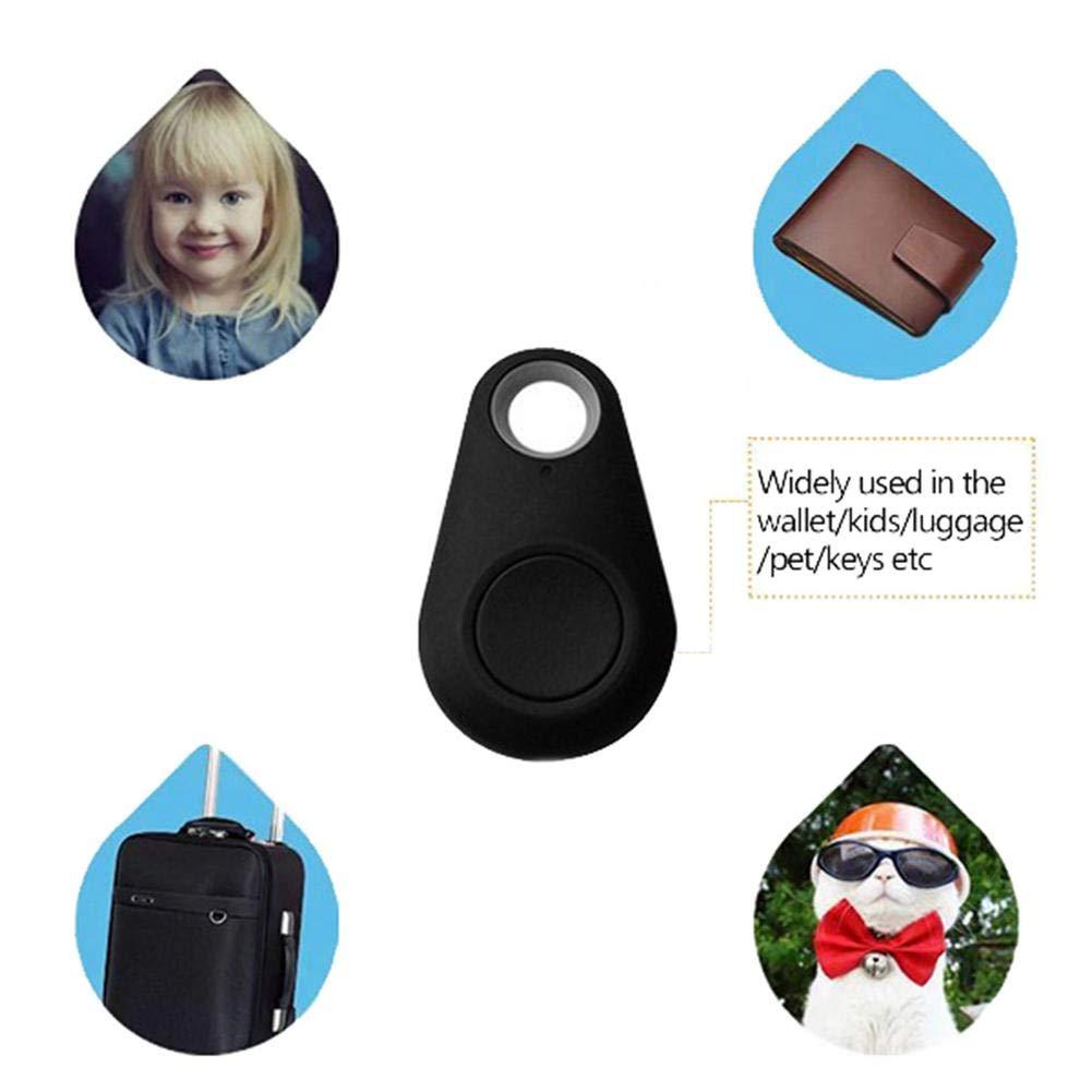 Sensor Inal/ámbrico De Anti-perdidas Rastreador De Mascotas por GPS Dispositivo Anti-perdida//Robo Buscador De Llaves Inteligentes 4 Piezas Buscador Remoto De Persianas Localizador Bluetooth