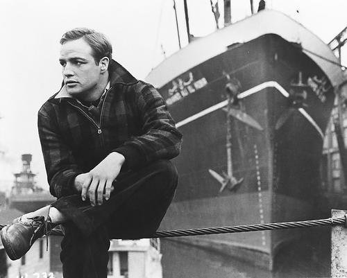 Marlon Brando 11x14 HD Aluminum Wall Art as Terry Malloy in On The - Waterfront Shops In