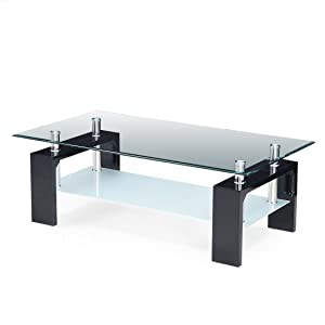 Royaloak Atlas Coffee Table (Black)