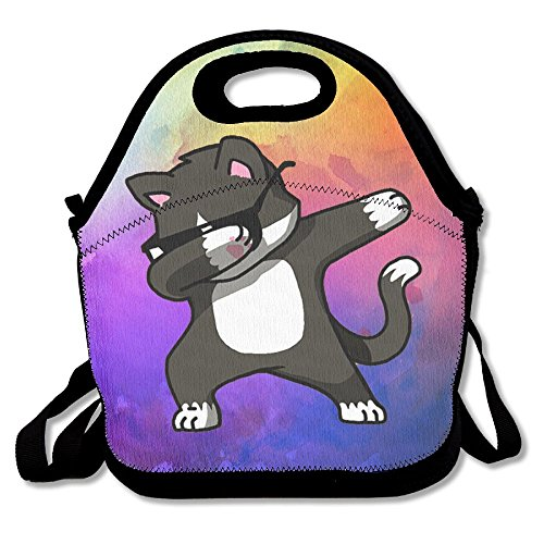 GT-0UJR Dabing Cat Lunch Tote Bag Picnic Lunchbox Lunch Tote Insulated Reusable Container Organizer For, Adults, Kids For School Work - Co Cheap Online Tiffany And