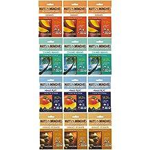 Matt's Munchies Premium Fruit Snack Mango 4 Flavor Variety Pack (Pack of 12)