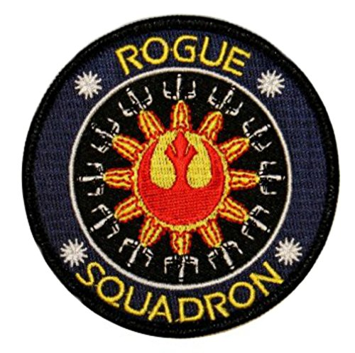 Outlander Gear Star Wars Rogue Squadron Embroidered Iron/Sew-on Applique (Rogue Marvel Costumes)