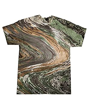 HM1111 Tie-Dye Adult Marble Tie-Dyed Tee (Marble Camouflage) (XL)
