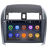 toyota corolla touch screen - SYGAV Double Din Android 7.1.1 Nougat 2G RAM Car Stereo for 2007-2011 Toyota Corolla 10.2 Inch Touch Screen GPS Sat Navigation Audio FM AM Radio LCD Monitor Head Unit