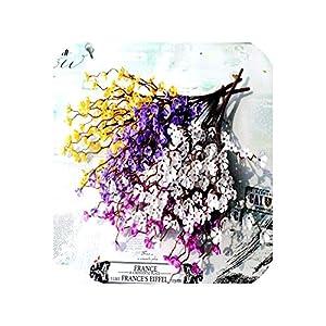 7 Head/lot Plastic Plum Flower DIY Chinese-Style Plum Blossoms Flower Cherry Home Decoration Wedding Artificial Plant 53