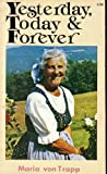 Yesterday, Today, and Forever, Maria von Trapp, 0892210087