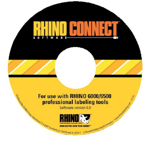 DYMO RHINO CONNECT Labeller Software, Software, Box of 1 (D1738636) by DYMO