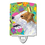 Caroline's Treasures Jack Russell Terrier Easter Night Light, 6'' x 4'', Multicolor
