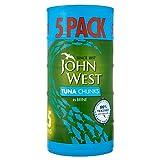 John West Tuna Chunks in Brine (5x160g) - Pack of 2