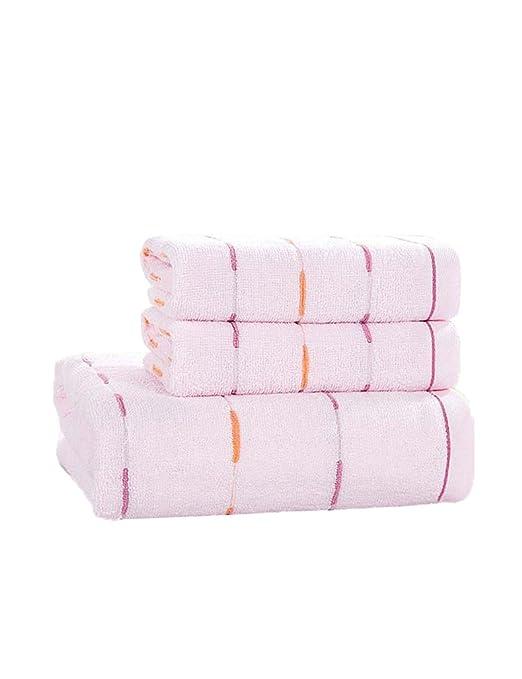 Toalla de algodón Simple Absorbente Toallas Grandes Toallas de ...