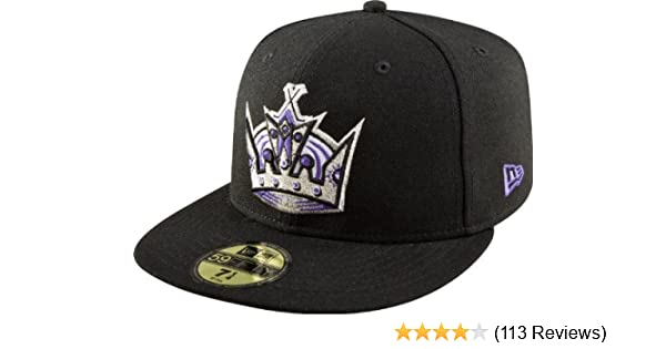54654697 Amazon.com : NHL Los Angeles Kings Basic 59Fifty Cap, Black, 7 : Sports Fan Baseball  Caps : Clothing