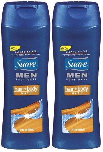 Suave Men Body Wash Hair + Body Wash 12 oz