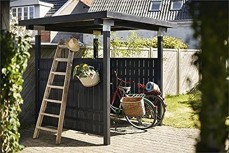 Postes Conector, para 3 cantos Vigas de madera 12 x 12 cm, modelo esquina, postes (galvanizado, Instale su propia Pergola