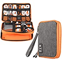 Electronics Accessories Organizer,Double Layer Waterproof...