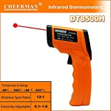 Seatechlogy DT8500H Digital Infrared Thermometer without Contact Temperature -50 ℃ to 500 ℃ (-58 ° F ~ 932 ° F) Large LCD Display Infrared Thermometer Precision Surface