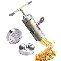 Yzibei Stainless Steel Household Manual Pasta Machine Family Small Manual Noodle Machine Hand Pressure Noodle Pressing Noodle Machine