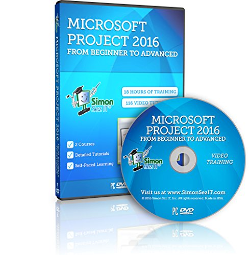 Master Microsoft Project 2016 Training Course - 18 Hours of