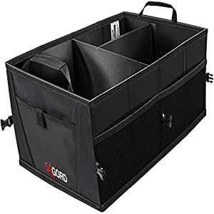 Trunk Organizer For Car Storage Organizers Best For Suv Truck Van Auto Accessories Organization Caddy Bag Front Or Back Seat Vehicle Sedan