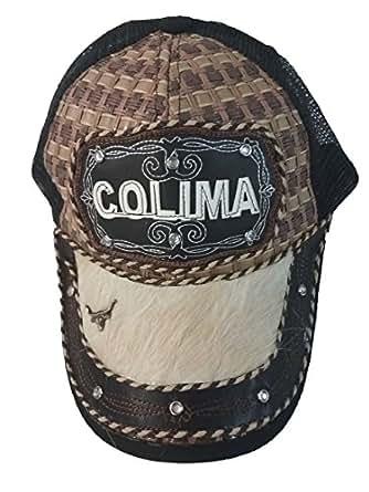 Gorra Charra Western Cowboy GO ID 158 Colima Negro/Beige at Amazon Men