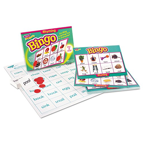 Trend Rhyming Bingo Learning Game - Theme/Subject: Learning - Skill Learning: Vocabulary, Spelling, Rhyming, Word