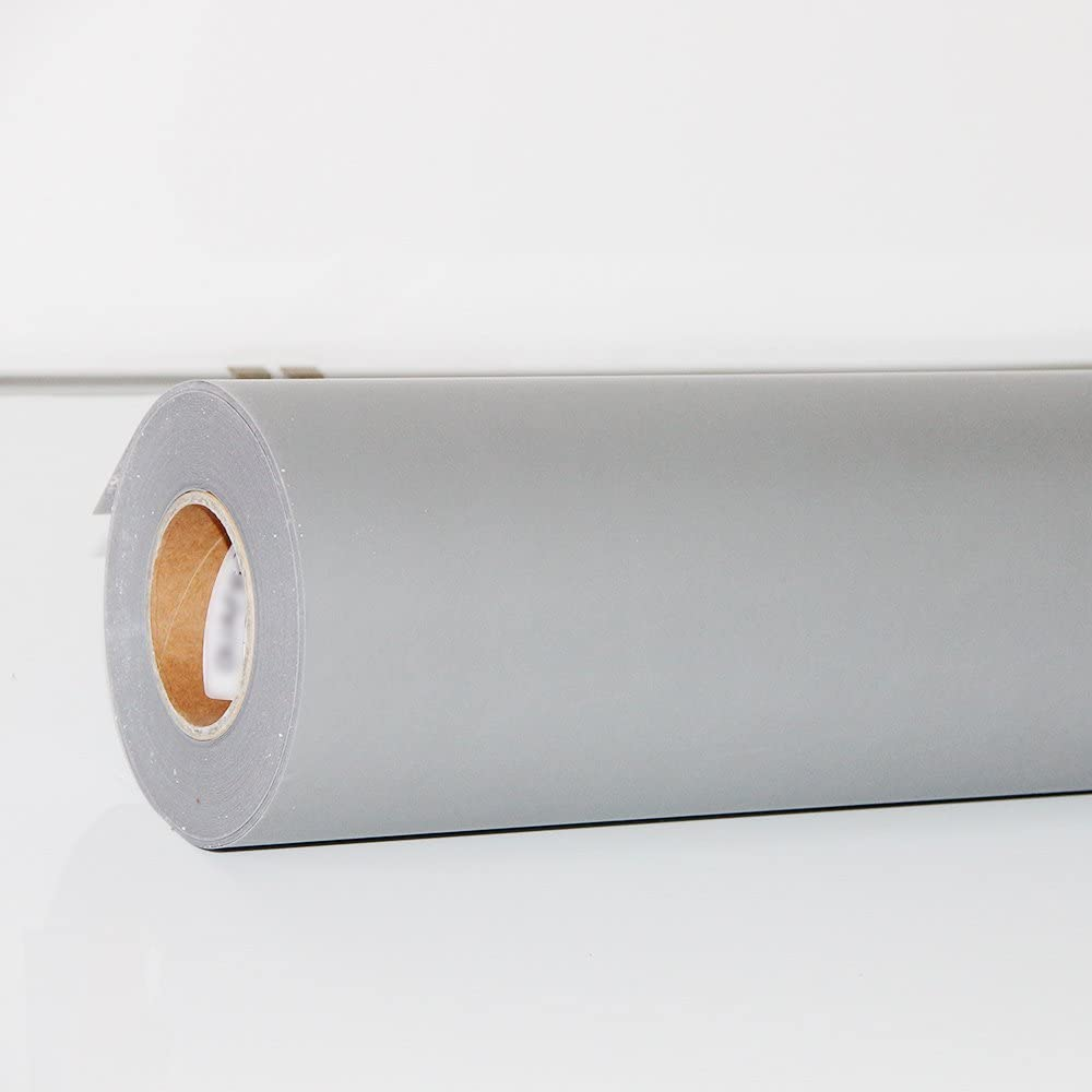 hoho Flock para planchar (transferencia de calor de vinilo hojas la ropa HTV corte Plotter DIY camiseta (50cmx500 cm) 50cmx500cm gris: Amazon.es: Hogar