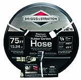 75 ft heavy duty hose - Briggs and Stratton 8BS75 75-Foot Premium Heavy-Duty Rubber Garden Hose