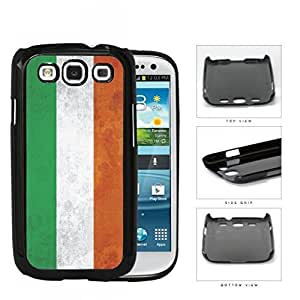 Ireland Flag Orange Green and White Grunge Hard Snap on Phone Case Cover Samsung Galaxy S3 I9300