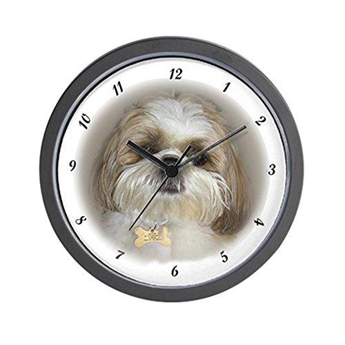 CafePress – Shih Tzu – Momma's Little Gir Wall Clock – Unique Decorative 10″ Wall Clock Review