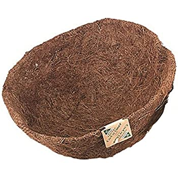 8-Inch rescozy Round Replacement Coco Fiber Basket Liner