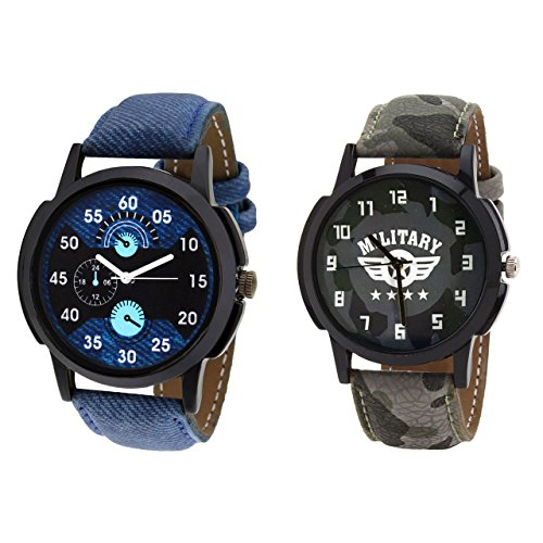Relish Casual Analogue Multicolour Wrist Watch Combo for Men's -...