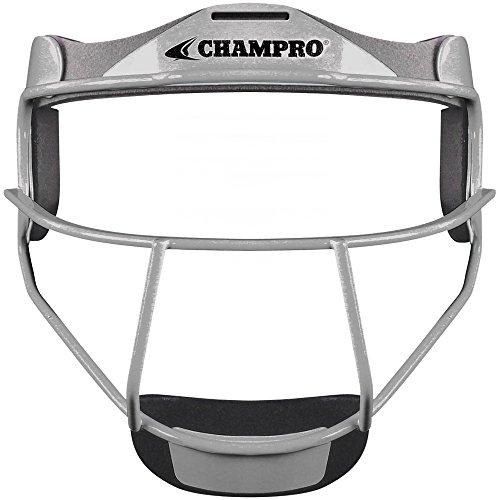 CHAMPRO CM01 FIELDERS FACE MASK SOFTBALL CP Athletic Heather YOUTH6.25-6.75 (Fielders Mask Softball)