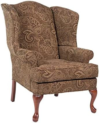 Comfort Pointe Paisley Wing Back Chair – Coco