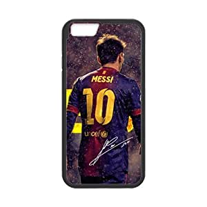 Onshop Custom FC Barcelona Messi Phone Case Laser Technology for iphone 6 4.7