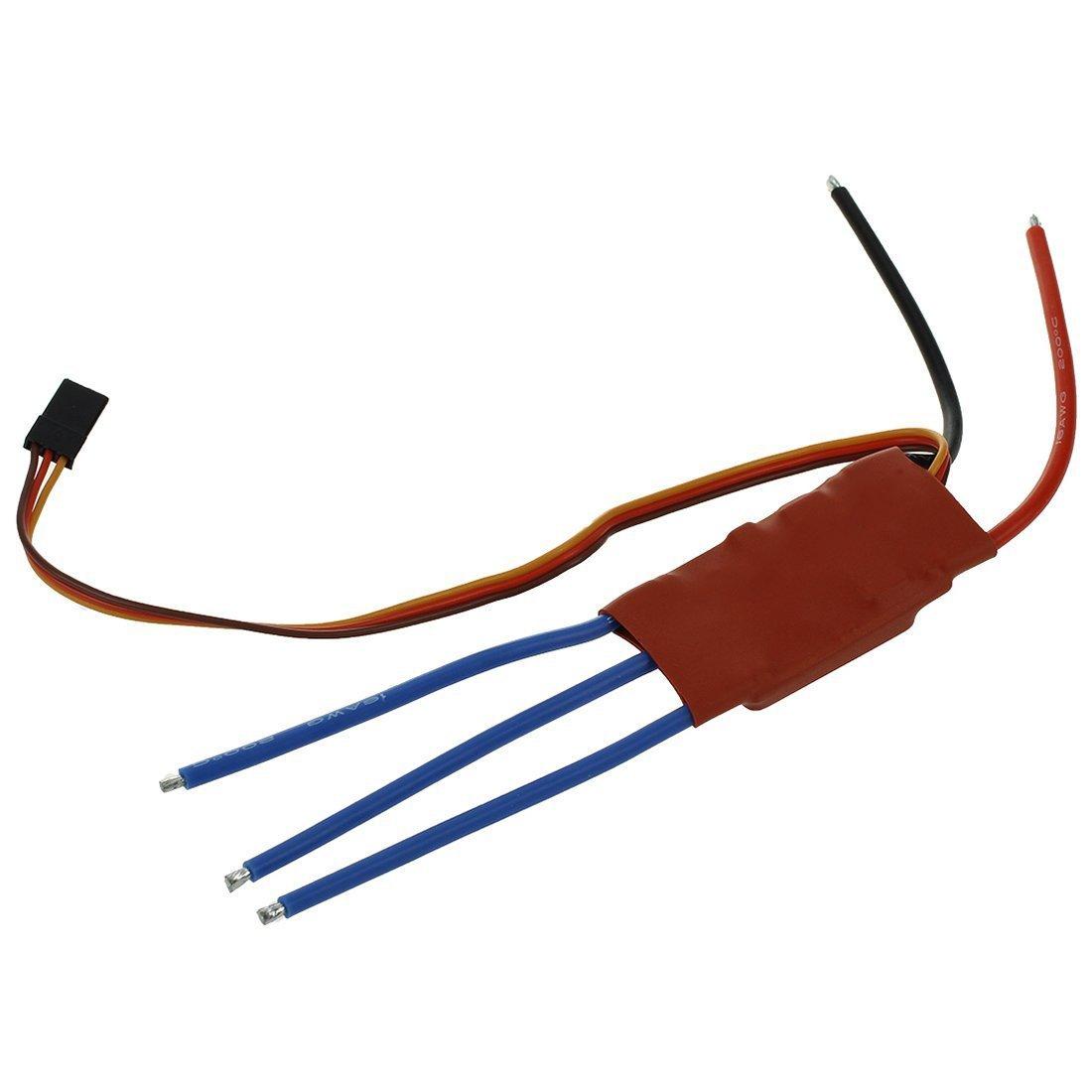 TOOGOO(R) Controle de la vitesse electronique sans balais 20 AMP 20A pour Simonk firmware New